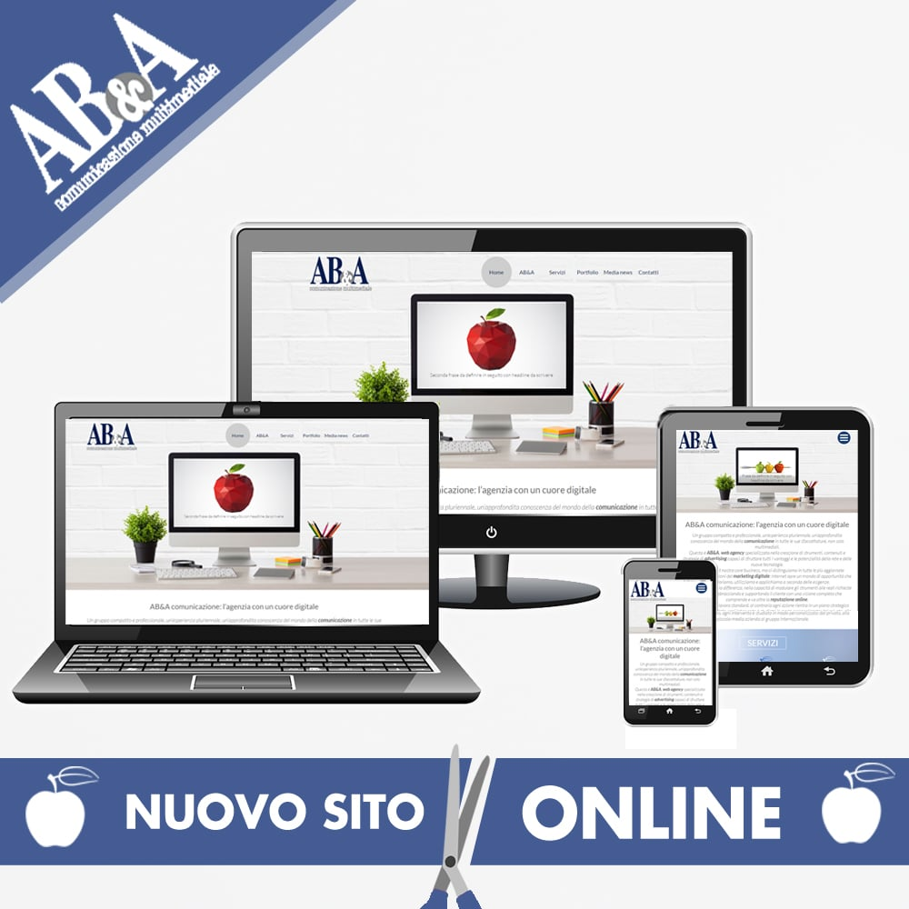 Nuovo sito online AB&A